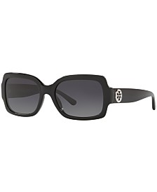 Tory Burch Polarized Sunglasses, TY7135 55