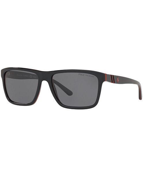 Polo Ralph Lauren Polarized Sunglasses, PH4153 58