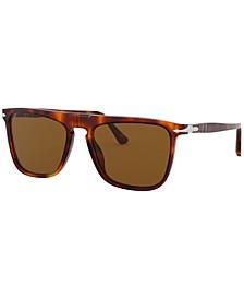 Polarized Sunglasses, PO3225S 56