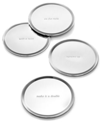 Set of 4 Silver Street Coasters