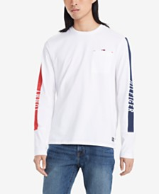 Tommy Hilfiger Denim Men's Parker Long-Sleeve T-Shirt