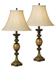Pacific Coast Riviera Set of 2 Table Lamps