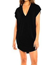 Jordan Taylor Cut Out Cover Up Tunic With  Back Detail