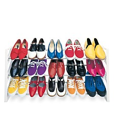 Lynk 15 Pair Convertible Closet Shoe Rack Organizer
