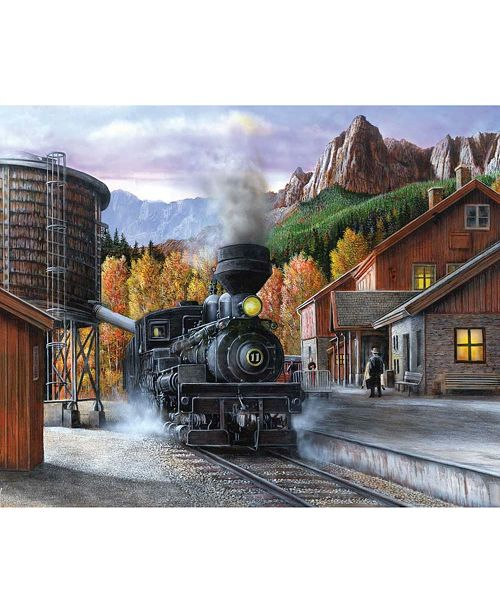 Springbok Puzzles Mountain Express 1000 Piece Jigsaw Puzzle