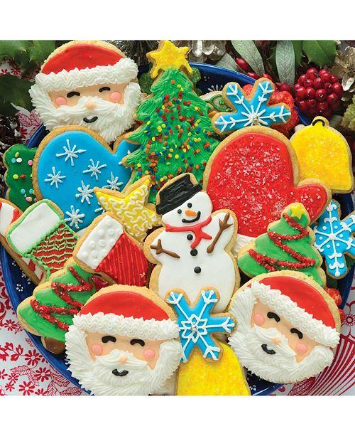 Springbok Puzzles Cookies Christmas 500 Piece Jigsaw Puzzle