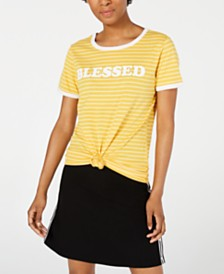 Love Tribe Juniors' Blessed T-Shirt