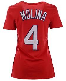 Majestic Women's Yadier Molina St. Louis Cardinals Player T-Shirt
