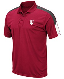 Men's Indiana Hoosiers Color Block Polo