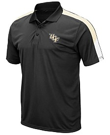 Colosseum Men's University of Central Florida Knights Color Block Polo