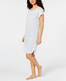 Short Sleeve Cotton Printed Nightgown, Created for Macy's