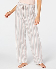 Cotton Striped Pajama Pants, Created for Macy's
