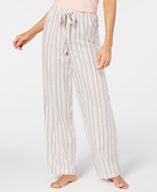Charter Club Cotton Striped Pajama Pants, Created for Macy's