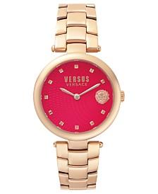 Versus Women's Rosegold Bracelet Watch 18mm