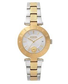 Versus Women's Silver/Gold Bracelet Watch 18mm