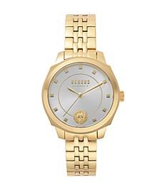Versus Women's Gold Bracelet Watch 14mm