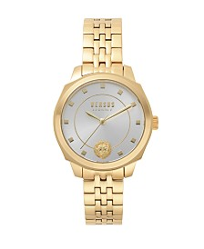 Versus Women's Gold Bracelet Watch 14mm