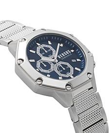 Versus Versace Men's Kowloon Park Silver Bracelet 22mm Watch