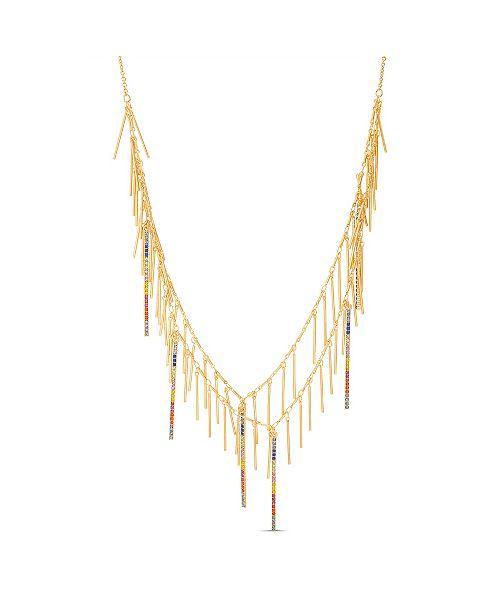 Steve Madden Women's Multi-Strand Chain Necklace