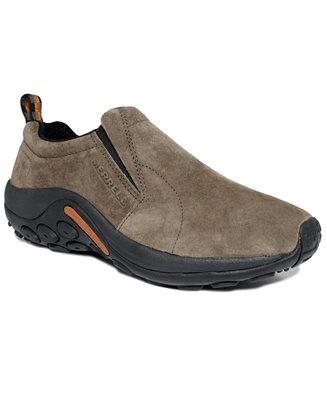 Merrell Jungle Suede Moc Slip-On Shoes - All Men's Shoes - Men - Macy's