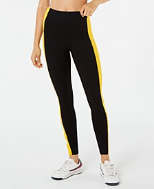 Macarena Striped High-Waist Leggings
