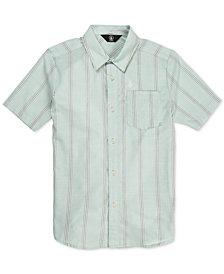 Volcom Big Boys Rilee Striped Shirt