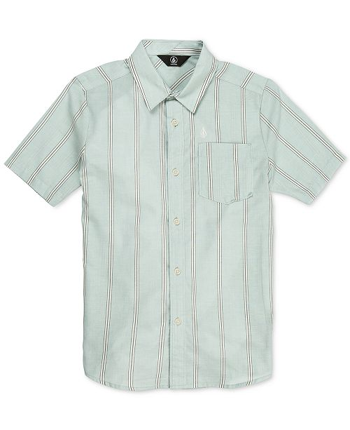 Volcom Big Boys Rilee Striped Shirt