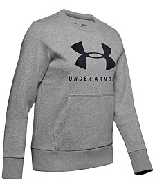 Under Armour Rival Logo Fleece Sweatshirt