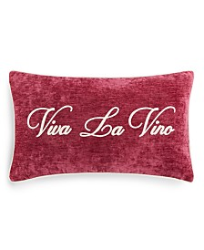 "Lacourte Viva La Vino 14"" x 24"" Decorative Pillow"