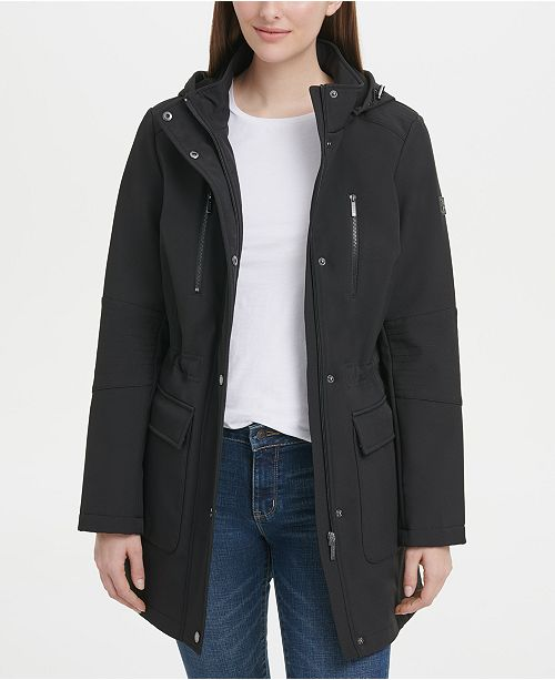 DKNY Hooded Anorak Jacket