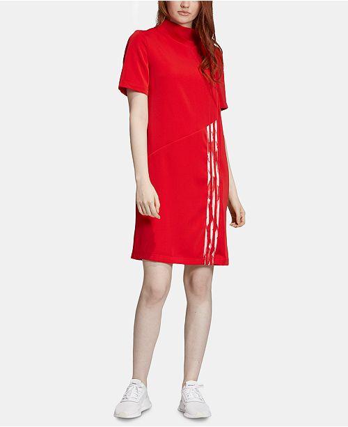 adidas shirt dress womens