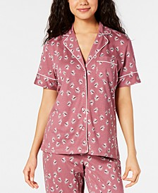 Cotton Printed Pajama Top, Created for Macy's
