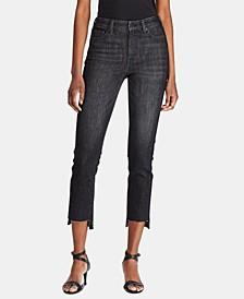Petite Straight-Leg Jeans