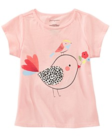 Toddler Girls Cotton Chicks T-Shirt, Created for Macy's