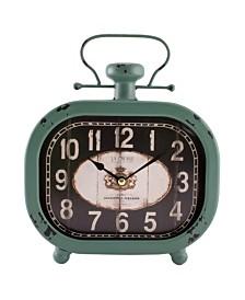 "La Crosse Clock 10"" Isla Metal Wall/Table Clock"