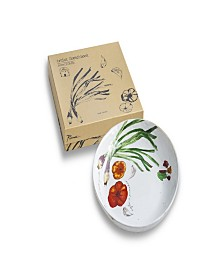Farm to Table Spring Onion Serving Bowl