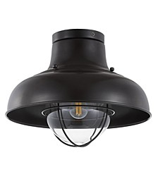 "Cameron 13"" Metal LED Semi-Flush Mount"