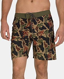 "Men's Phantom Schofield 18"" Graphic Board Shorts"