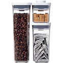 OXO Pop 3-Piece Food Storage Container Variety Set