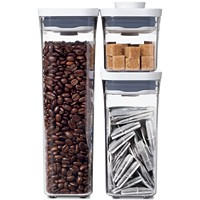 Deals on OXO Pop 3-Pc. Food Storage Container Variety Set