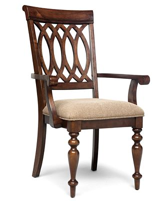 Dining Room Chairs With Arms crestwood dining room chair, arm chair - furniture - macy's