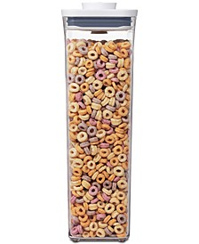 Pop Rectangular Tall Food Storage Container