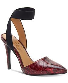 Jessica Simpson Perinna Ankle Strap Pumps