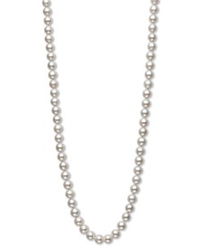 """AA+ 36"""" Cultured Freshwater Pearl Strand Necklace (8-1/2-9-1/2mm) in 14k Gold"""