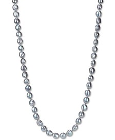 """Cultured Baroque Freshwater Pearl (11-12mm) 36"""" Endless Necklace"""