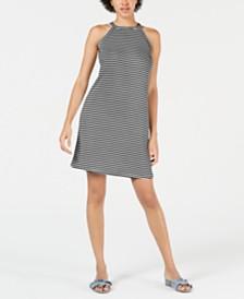 Maison Jules Halter Shift Dress, Created for Macy's