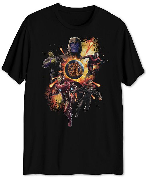 Hybrid Avengers Men's Graphic T-Shirt