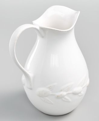 La Dolce Vita Olive Whiteware Pitcher, Created for Macy's