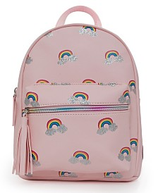 Rainbow Printed Mini Backpack