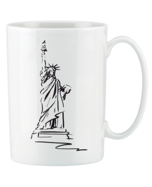Lenox Dinnerware Tin Can Alley New York Accent Mug